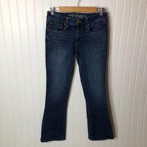 American Eagle Jeans Skinny Kick Womens 6 Short